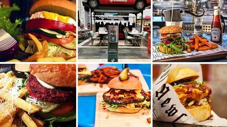 Kotimaisista burgerpaikoista saa maukkaita hampurilaisia, ja monet niistä ovat myös upeita miljöitä.