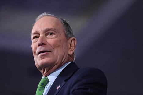 Michael Bloomberg on demokraattien ehdokas vuoden 2020 presidentinvaaleissa.