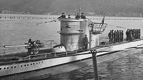 Uponnut U-1206 oli samanlainen tyypin VIIC sukellusvene kuin kuvassa oleva.