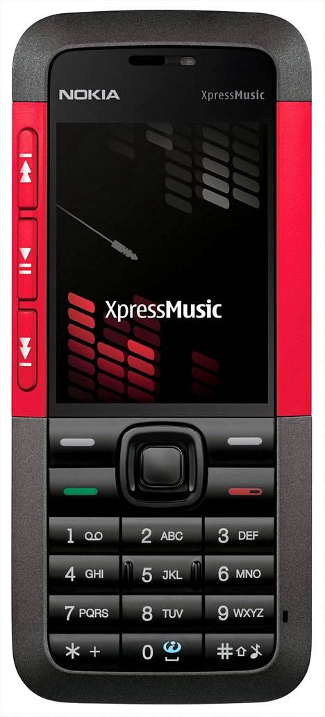 Vuoden 2006 Nokia 3310 Xpress Music.