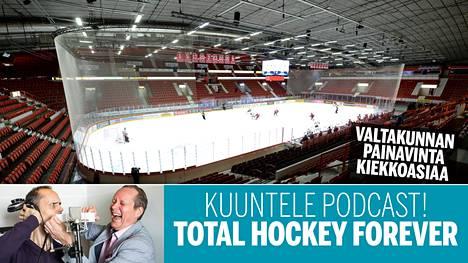 Näihin kuviin, näihin tunnelmiin päättyi jääkiekon SM-liigan kausi 2019–20.