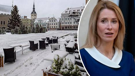 Viron pääministeri Kaja Kallas ilmoitti laajasta koronasulusta.