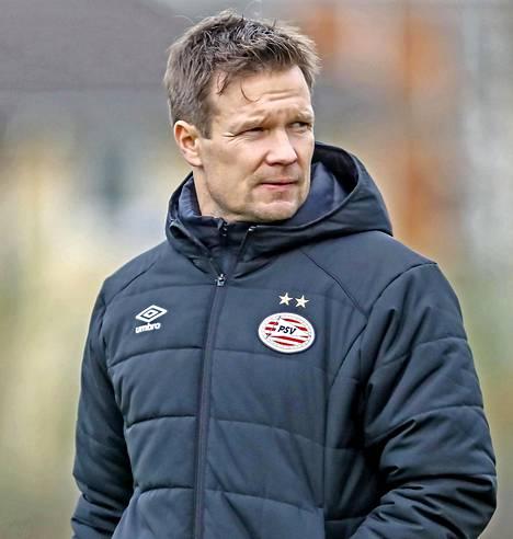 Joonas Kolkka työskentelee talenttivalmentajana hollantilaisessa suurseurassa PSV:ssä.