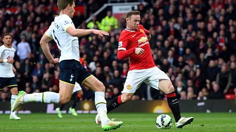 Manchester Unitedin Wayne Rooney on nauttinut entistä hyökkäysvoittoisemmasta roolistaan.
