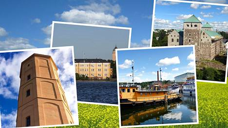 Suomesta löytyy paljon nähtävää.