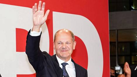 SPD:n kansleriehdokas Olaf Scholz.