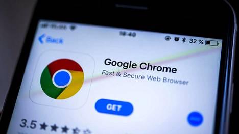 Vanhemmissa puhelimissa haavoittuva Chrome ei äivity itsekseen.