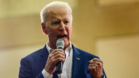 77-vuotias Joe Biden pyrkii Yhdysvaltain presidenttiehdokkaaksi.