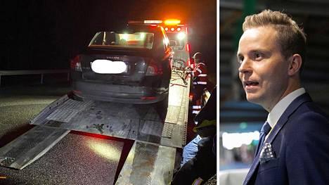 Petri Honkonen joutui uhkaavaan onnettomuuteen.