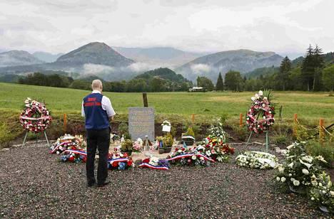 Germanwingsin lentoturman uhrien omaisille järjestettiin Ranskan Le Vernet'ssä muistotilaisuus heinäkuussa. Tragediassa menetti henkensä 150 ihmistä.