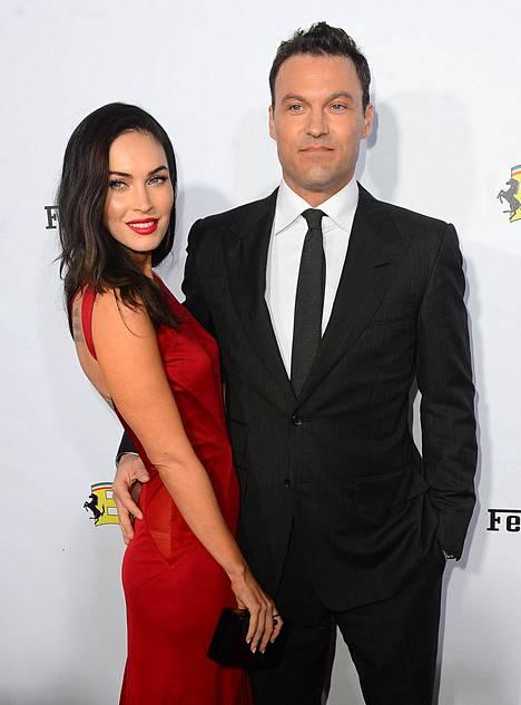 Megan Fox on ollut puolisonsa kanssa jo kymmenen vuotta.