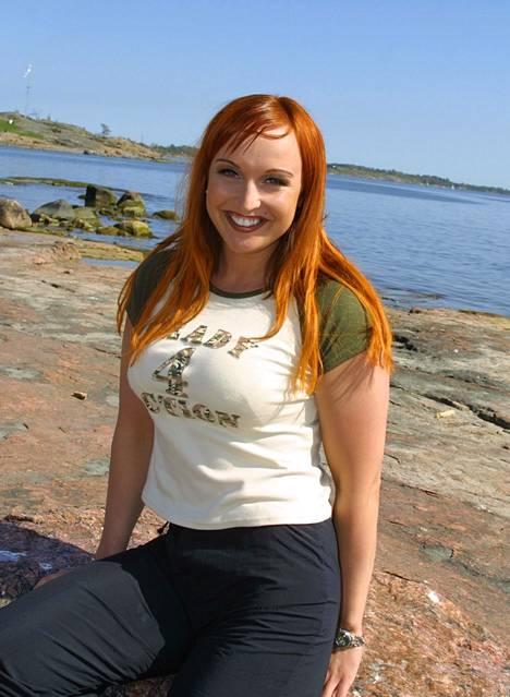 Jutta Gustafsberg nousi julkisuuteen Suuri Seikkailu -tv-ohjelmasta vuonna 2001.