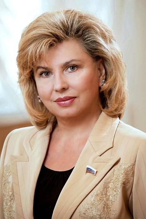 Tatjana Moskalkovan mukaan Venäjällä ei ole poliittisia vankeja.