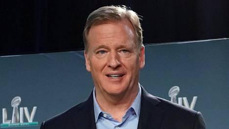 NFL:n komissaari Roger Goodell haluaa pitää kiinni NFL:n varaustilaisuuden aikataulusta.