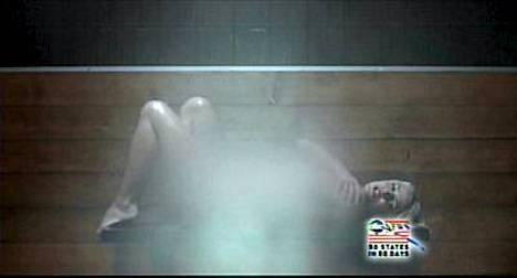 Britney Spears nähdään uudella videollaan saunan lauteilla täysin alasti.