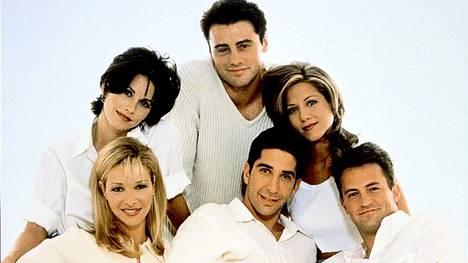 Frendeissä seurattiin Monican, Phoeben, Rachelin, Rossin, Chandlerin ja Joeyn edesottamuksia.