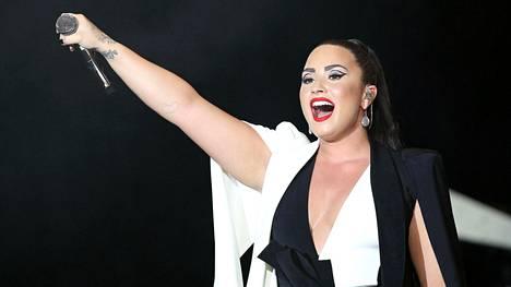 Demi Lovato esiintyi kesäkuussa Lissabonissa.