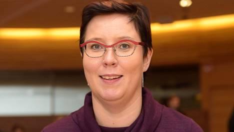 Euroedustaja Merja Kyllönen heitti jäätävän kuitin Timo Soinille vasemmistoliiton puoluekokouksessa Oulussa lauantaina.