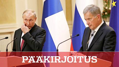 Ei ole tietoa, milloin Sauli Niinistö voi tavata Vladimir Putinin seuraavan kerran koronakevään jäljiltä. Kuva on elokuulta 2019.