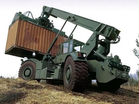 Kalmar aikoo keskittyä tavoittelemaan kontinlastaus- ja siirtolaitteilleen Yhdysvaltain sotavoimien tilauksia.