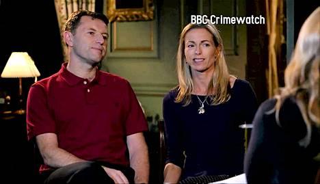 Madeleinen vanhemmat Kate ja Gerry McCann esiintyvät maanantaina BBC:n Crimewatch-ohjelmassa.