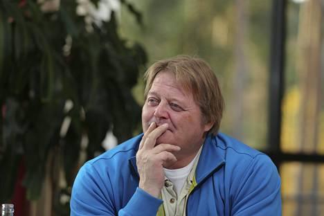Seppo Räty karsiutui keihäänheiton loppukilpailusta Stuttgartin MM-kisoissa 1993.