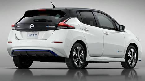 Euroopassa Nissan Leaf 3.Zero e+ Limited Edition -mallin saa 5 000 nopeinta.