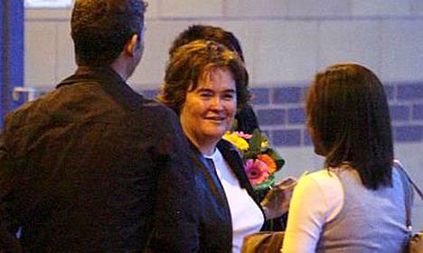 Susan Boyle toipui hermoromahduksestaan.