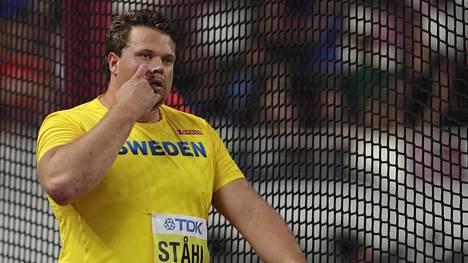 Daniel Ståhl heitti kiekkokarsinnan pisimmän heiton.