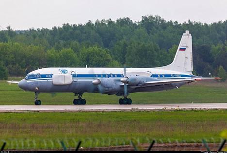 Il-22PP on elektronisen sodankäynnin alusta, joka pohjautuu vanhaan Iljushin Il-18 -potkuriturbiinikoneeseen.
