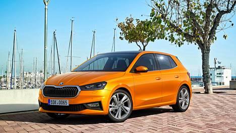 Uusi Škoda Fabia ei ole muuttunut vallankumouksellisesti edeltäjäänsä verrattuna, mutta silti se vaikuttaa modernilta.