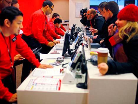 Verizon on suurin 4G-verkkojen käyttäjä. Applen 4G-kelpoiset puhelimet lisäävät nopeiden verkkojen kysyntää.