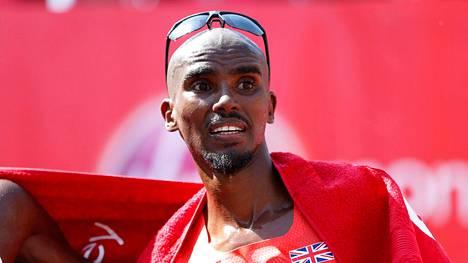 Mo Farah tunnetaan 5000 ja 10 000 metrin kaksinkertaisena olympiavoittajana.
