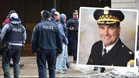 Poliisikomentaja Paul Bauer sai surmansa ammuskelussa.