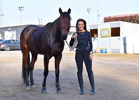 Hevoset ovat Martinan suuri rakkaus.