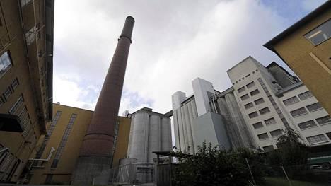 Raisio Oyj:n tehdas Raisiossa syyskuuta 2011.