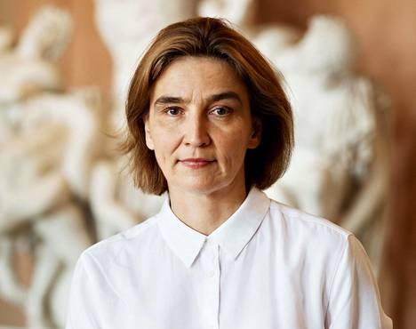 Tutkija Anu Kantola.