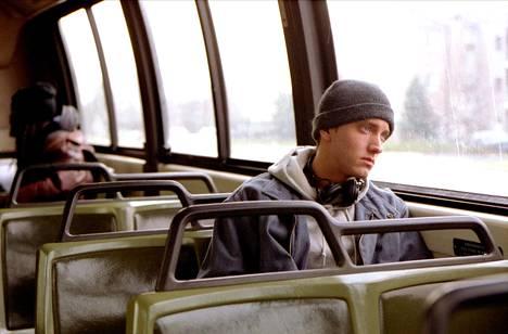 Eminem nähtiin 8 Mile -elokuvan pääosassa vuonna 2002.