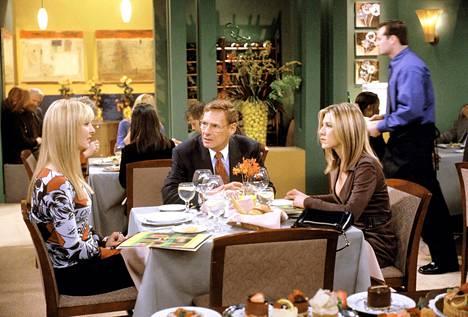 Frendit-sarjassa Leibman esitti Rachelin isää.