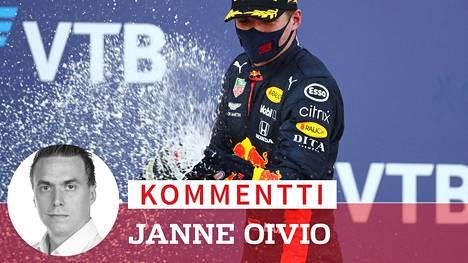 Max Verstappen on Red Bullin tähtikuljettaja.