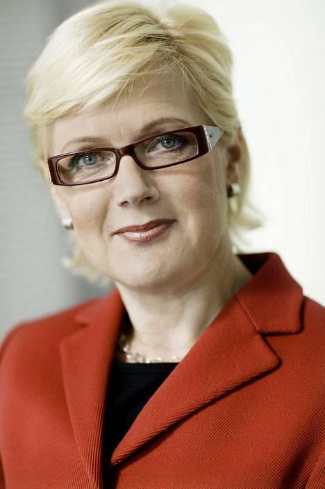 Koneen entinen henkilöstöjohtaja Kerttu Tuomas.