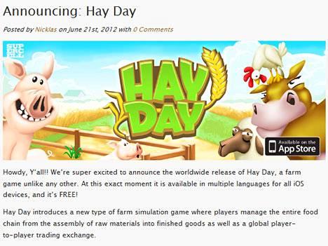 Hay Day on farmipeli.