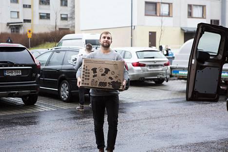 Lauri Laikko muutti Studiokoteihin.