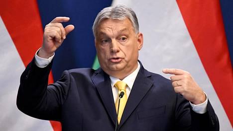 Unkarin pääministeri Viktor Orban haluaa syntyvyyden nousuun.