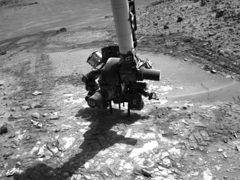 Arkistokuva Curiosityn porasta.