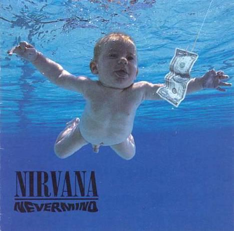Nevermind-levyn kansi on saanut kulttimaineen.