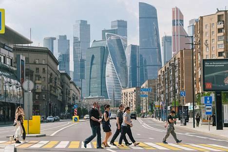Venäjällä on vahvistettu jo lähes puoli miljoonaa koronavirustartuntaa.