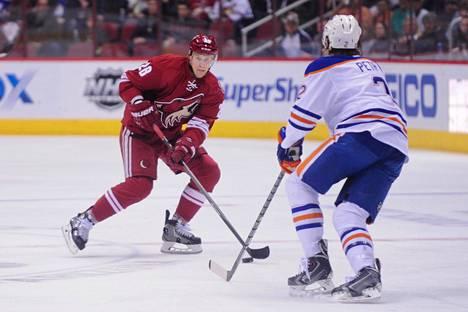 Korpikoski pelasi NHL:ssä pisimpään Phoenixissa: kuusi kautta vuosina 2009–15.