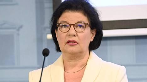 Sosiaali- ja terveysministeriön strategiajohtaja Liisa-Maria Voipio-Pulkki.