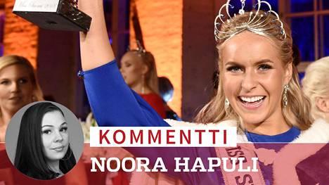 Alina Voronkovan saama somepalaute tuntuu käsittämättömältä, kirjoittaa Noora Hapuli.